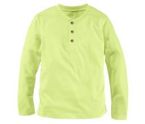 Langarmshirt für Jungen limette