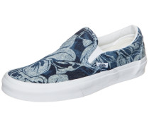 Classic Slip-On Indigo Tropical Sneaker blau