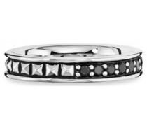 Ring mit Spinellen »Royal Punk C4173R/90/l6/62« schwarz / silber