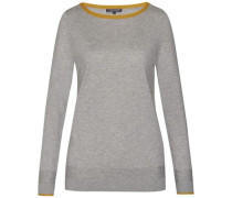 Pullover ´new Havera Tipping Boat-Nk Swtr´ hellgrau