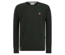 Pullover 'Zapzarap Zip Zap' dunkelgrün