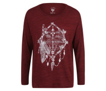 Longsleeve 'Magical Winter' rot