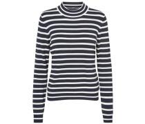 Langärmeliger Pullover blau