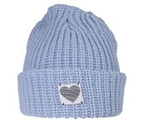 Mütze 'Chunky Rib' rauchblau