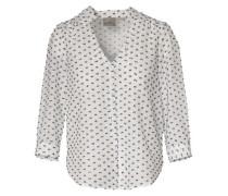 Bluse Organic Cotton navy / weiß