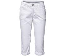 Caprihose weiß