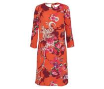 Sommerkleid bordeaux / orangerot