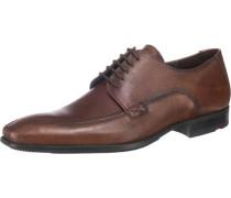 'Delong' Business Schuhe braun / dunkelbraun