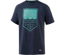 Element Hybrid T-Shirt blau