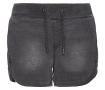 Sweat-Jeansshorts 'nittove' grau