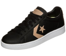 'Pro Leather 76 OX' Sneaker schwarz