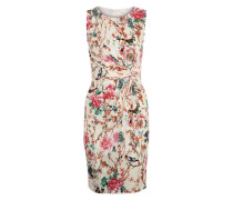 Jerseykleid mit Allover-Print mischfarben