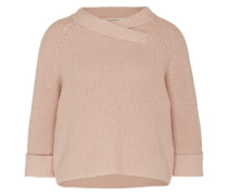 Pullover im Oversized-Format rosé