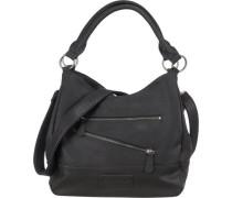Handtasche 'Clarissa Berlin' schwarz