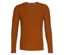 Pullover 'rgln Cneck Slit' orange
