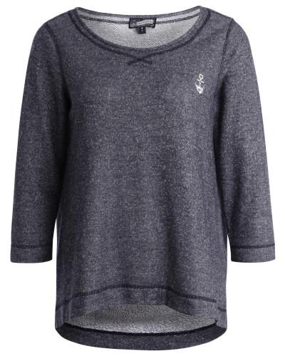Sweater blaumeliert