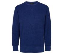 Crew Neck-Sweatshirt blau