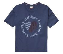 T-Shirt 'thdw Basic CN T-Shirt S/S 17' blau