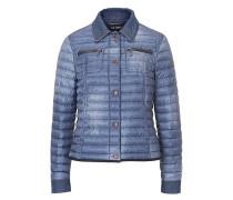 Sportive Jacke im modischen Stil blue denim