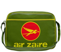 "Tasche ""Air Zaire"" grün"