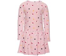 Kleid mit langen Ärmeln nitdalura pink