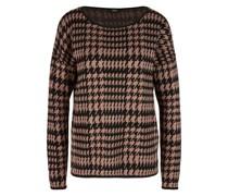 Pullover im Hahnentritt-Design