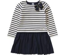 Kinder Kleid marine / gold / naturweiß