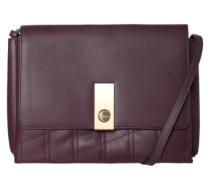 Crossover-Bag 'Carri3' gold / bordeaux