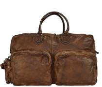 Reisetasche Leder 56 cm braun