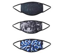 Stoffmasken 3er Pack 'abstract Lights'