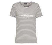 T-Shirt 'Maike' naturweiß