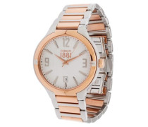 Armbanduhr Cra106Str01Mrt bronze / silber