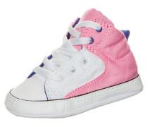 'Chuck Taylor First Star High Street High' Sneaker dunkelblau / pink / weiß