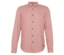 Hemd 'grindle button down' pastellrot
