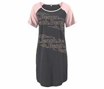 Nachthemd grau / rosa