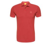 Poloshirt 'Pascha' orange / rot