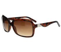 Damen Sonnenbrille Tortoise braun / schwarz