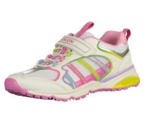 Sneaker gelb / helllila / pink / weiß