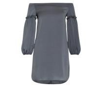 Schulterfreies Kleid 'Allie' rauchgrau