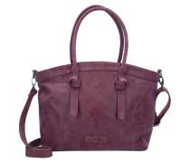 'Ivett Vintage' Shopper Tasche 48 cm lila