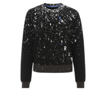 Sweatshirt 'Ustra' schwarz
