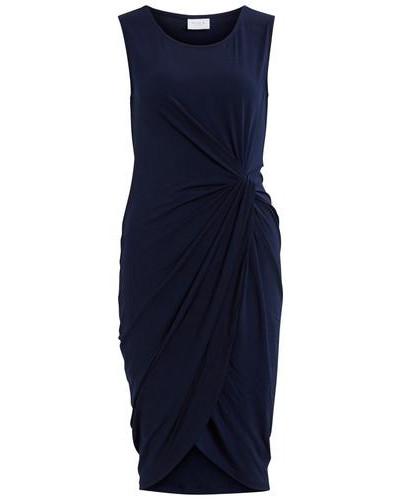Figurbetontes Kleid 'vipicca Dress' blau