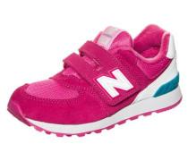 Sneaker Kinder hellblau / pink / weiß