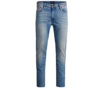 Skinny Fit Jeans 'Ben Original Cropped Jos 096' blau