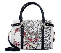 Bols San Marino Ava Handtasche 30 cm schwarz / weiß