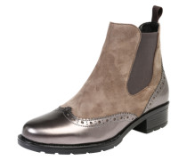 Chelsea Boot 'Liverpool' braun / silber