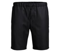 Taillierte Shorts schwarz