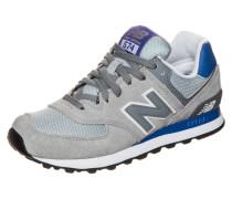 Sneaker 'wl574-Cpk-B' royalblau / grau