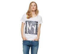 BOSS ORANGE T-Shirt 'Talmaya' weiß