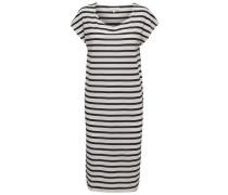 Basic- Kleid navy / weiß